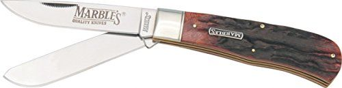 Marbles Jumbo Trapper Knife, 4.5in. Closed. 7598.