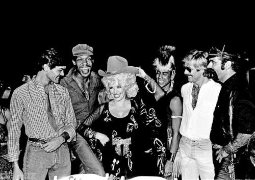THE-VILLAGE-PEOPLE-MUSIC-PHOTO-4-WITH-DOLLY-PARTON
