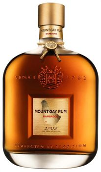 Mount Gay 1703 Old Cask Selection - Top 10 Rums - Best | Gayot Named for the year in which the Mount Gay distillery was founded, this premium product of Barbados displays the type of craftsmanship and refinement of flavors that one would expect from the oldest continuously active rum brand in the world. Made from Barbadian sugarcane and coral Read more at http://www.gayot.com/spirits/top10rums/mount-gay-1703.html#6uXAK0HZLS5oogpz.99