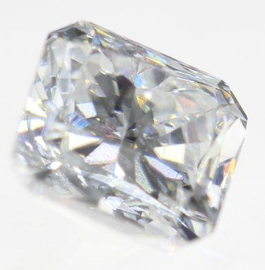 0.18 CARAT J COLOR VVS2 RADIANT BUY LOOSE DIAMOND FOR JEWELRY 3.34X3.31M