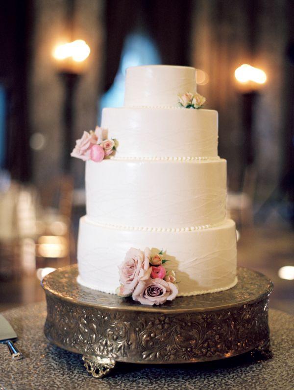 White Four Tier Wedding Cake | Photography, Cake ...