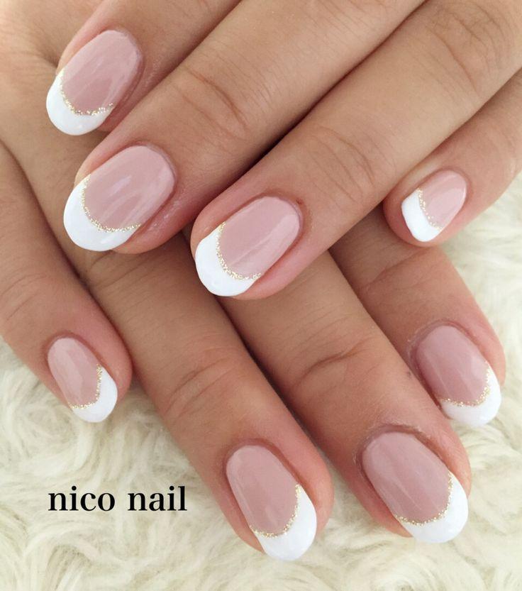 浜松市 中区 自宅ネイルサロン nico nail ニコネイル:ナチュラルネイル(フレンチネイルとグラデーションネイル)