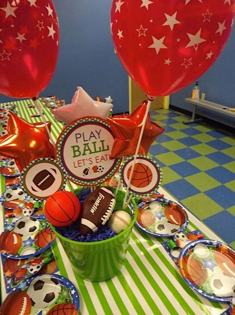 DIY All Star Sports PARTY PACK by LaurenHaddoxDesign on Etsy, $35.00