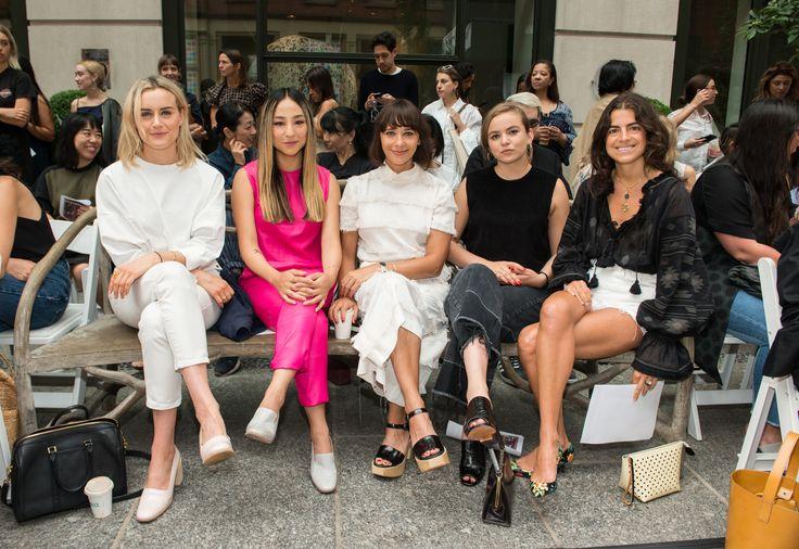 Taylor Schilling, Greta Lee, Rashida Jones, Morgan Saylor, and Leandra Medine