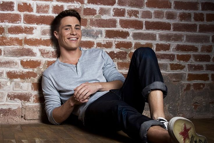 Colton Haynes   See this is what happens when I get broken up with...or so I'm learning. Sexual frustrations.