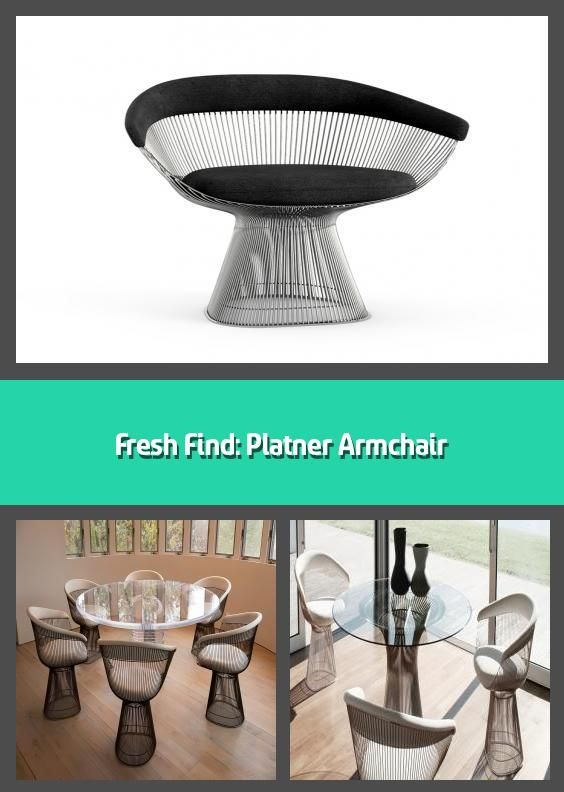 Fresh Find: Platner Armchair - Platner Armchair   Knoll ...