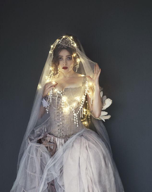 sweetlysurreal:  Helena Bonham Carter in Stella Magazine by Gustavo Papaleo – Tuesday, November 20th, 2012