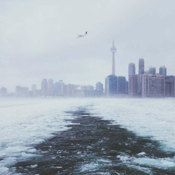 """""""Skyline from the ferry on the way to explore Toronto Island."""" - by Alex Strohl #DiscoverOntario"""
