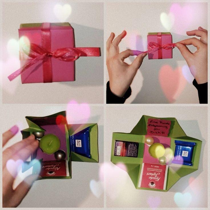 Geschenkideen Selber Basteln : wohlf hlbox geschenkidee zum selber basteln geschenke ~ Watch28wear.com Haus und Dekorationen
