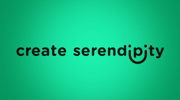 Create serendipity - Timothy Goodman, Day Ten on 40 Days of Dating, lettering by Ellen Flaherty