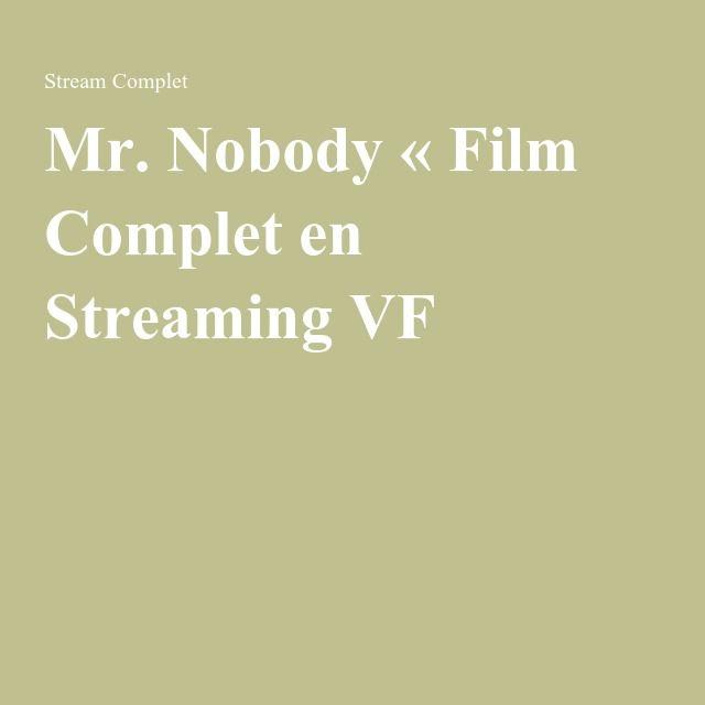 Mr. Nobody « Film Complet en Streaming VF