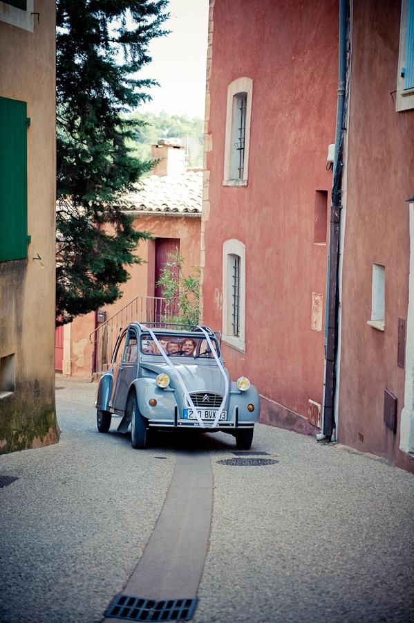 feest eendje, voor een speciale gelegenheid. 2CV, french car