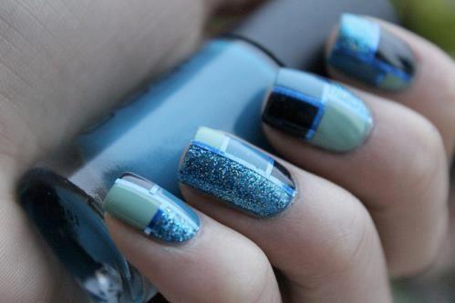 Blue ;) #nailart