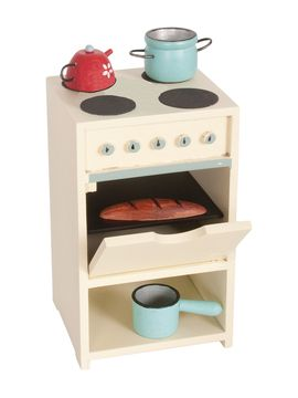 Mini Stove Toy with Utensils from Maileg Stuffed Animals & More on Gilt