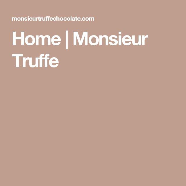 Home | Monsieur Truffe