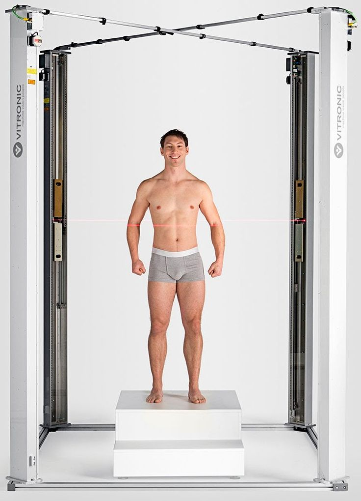 VITRONIC - VITUS - 3D Body Scanner