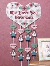 plastic canvas - I love this, a great idea for a gift for grandma