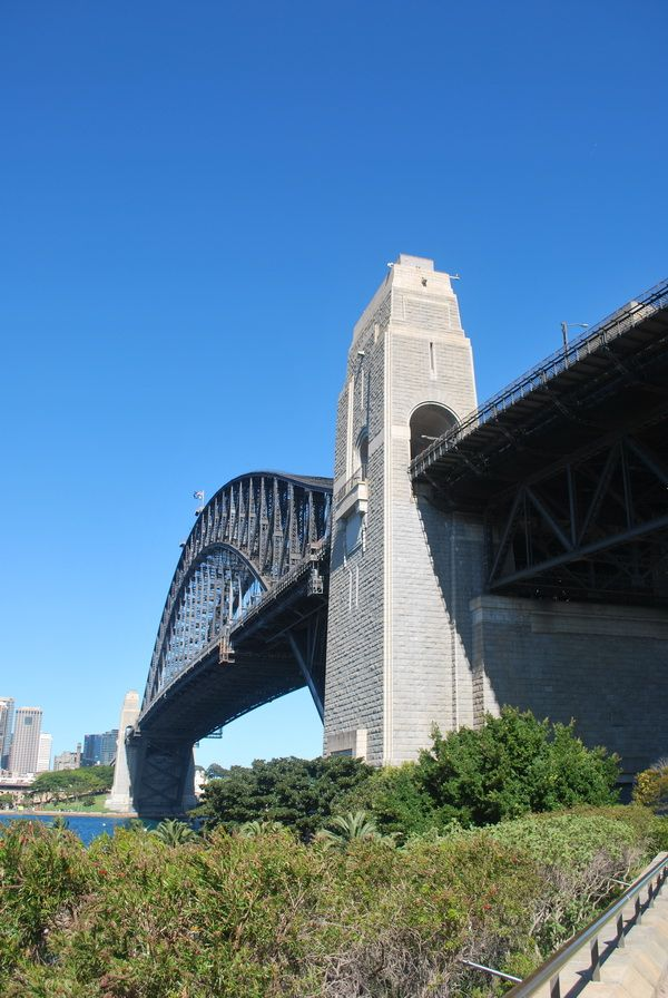 A walk over the Sydney Harbour Bridge is a great experience!!