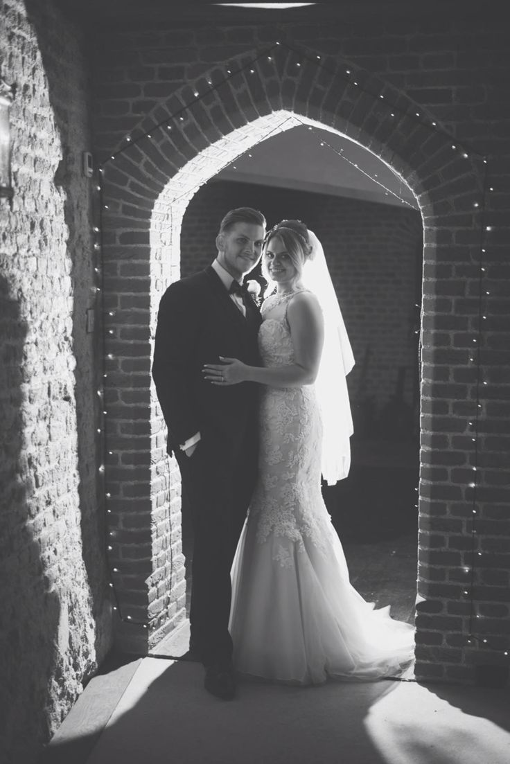 Castle and fairy lights Wedding photography #mattfoxphotography