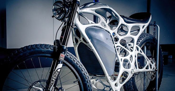 Airbus' Light Rider is The First 3D Printed Motorcycle