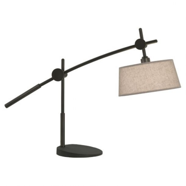 Raposa Table Lamp - Natural/Patina Bronze | Memoky.com