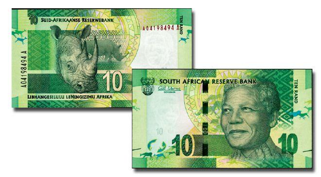La banconota di Mandela