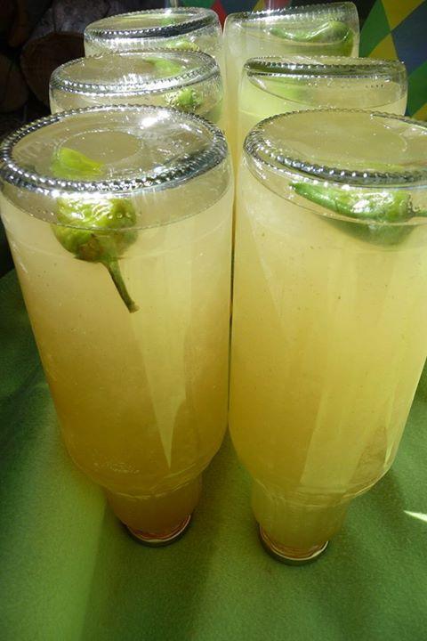 Uborkás bodzaszörp jalapeno paprikával / Elder juice with cucumber and jalapenos