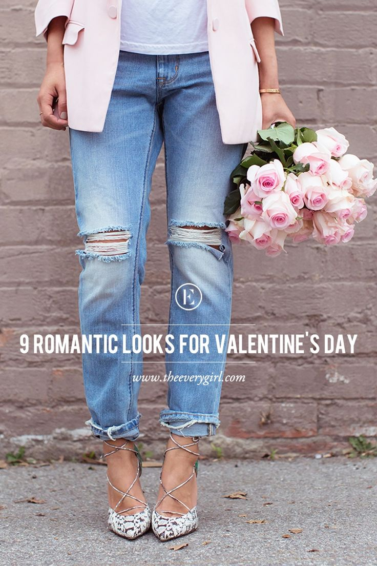 9 Romantic Looks for Valentine's Day  #theeverygirl