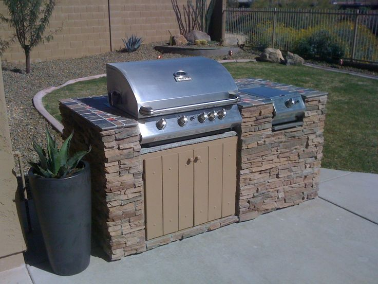 25 best ideas about bbq island kits on pinterest for Built in barbecue grill ideas