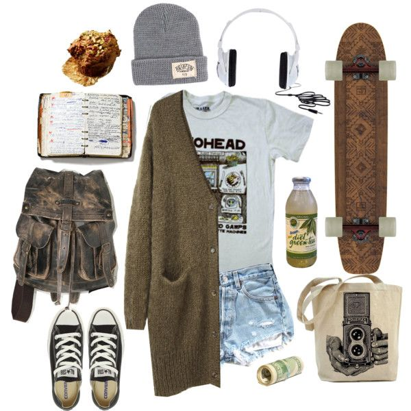 """market day"" by sara-roach on Polyvore RADIOHEAD!"