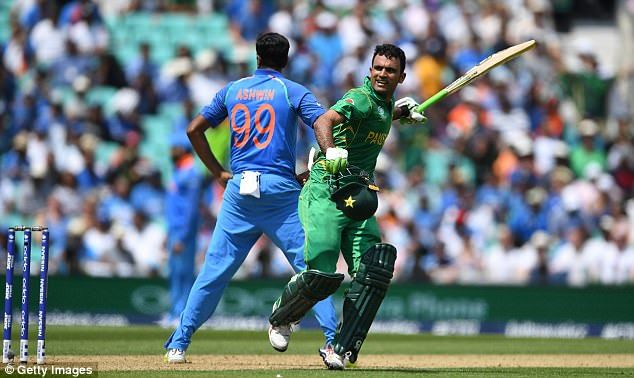 The Pakistan opener scored 114 from 106 deliveries in the showpiece at the Oval