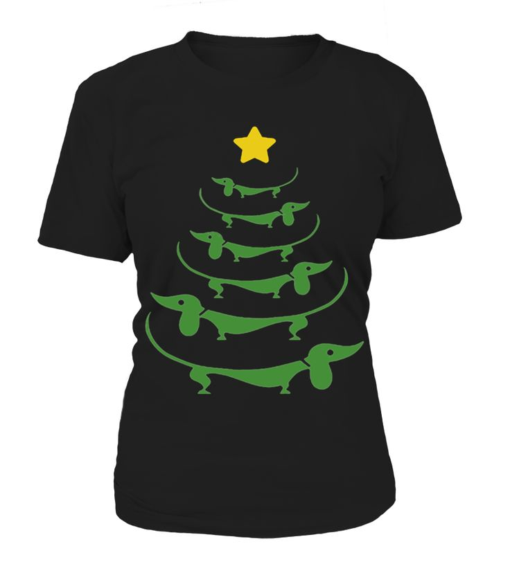 Dachshund Wiener Dog Christmas Tree Funny Black Friday  Funny Black Friday T-shirt, Best Black Friday T-shirt