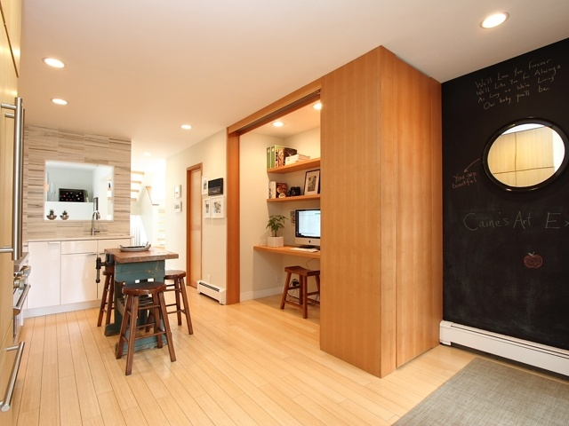 Vancouver home featuring custom bamboo cabinets, natural bamboo floors throughout as well as bamboo in the front garden! Just beautiful :)  http://www.myeastvan.com/listings/view/4443/vancouver-east/collingwood-ve/3313-church-street-vancouver-bc-v5r-4w7#