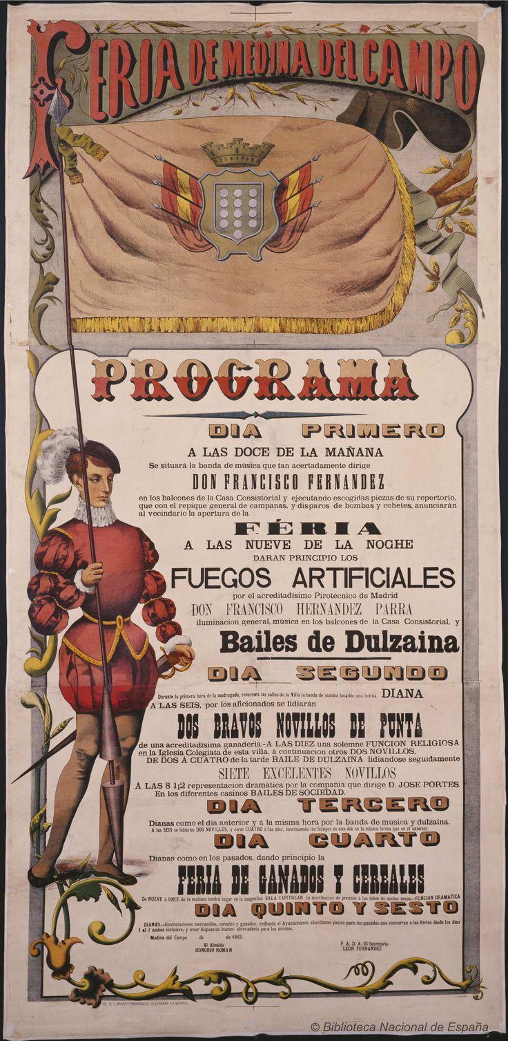 Feria de Medina del Campo. Medina del Campo Ayuntamiento — Dibujos, grabados y fotografías — 1882