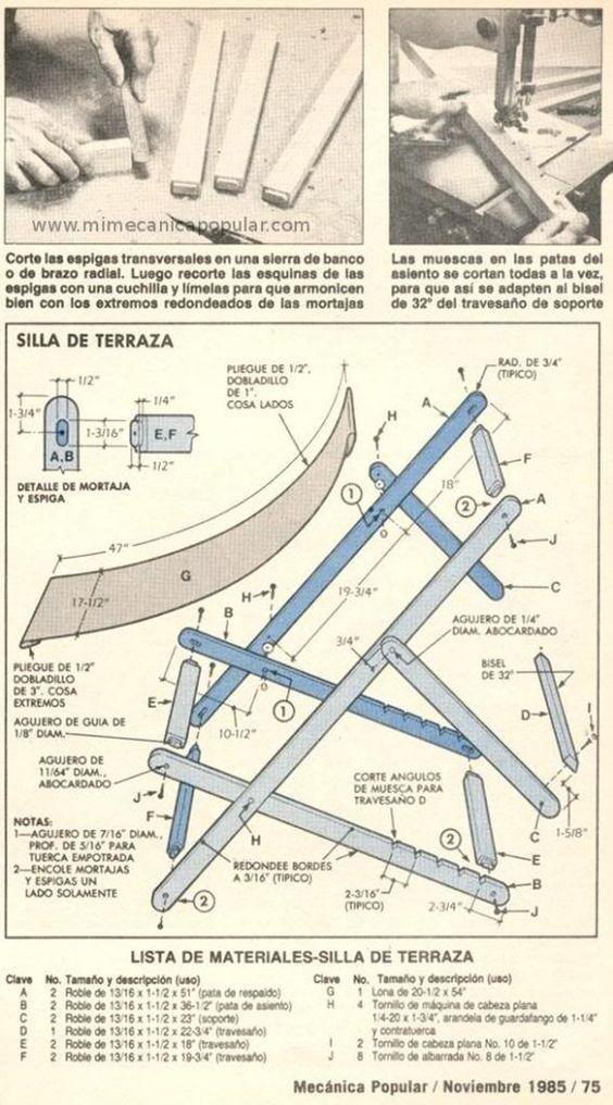 M s de 1000 ideas sobre planos de casas de madera en for Sillas para planos