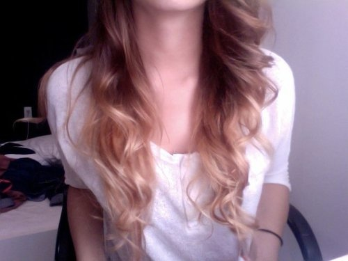 Ombre. Im doing this to my hair next time I go into the salon: Hairstyles Colors, Hair Colorstyl, Ombre Hair, Hair Makeup Nails, Hair Style, Beautiful Hair, Makeup Nails Hair, Braids Hair, Curly Hair