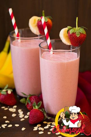 Resep Banana Strawberry Smoothie, Resep Masakan Berserat Tinggi, Club Masak