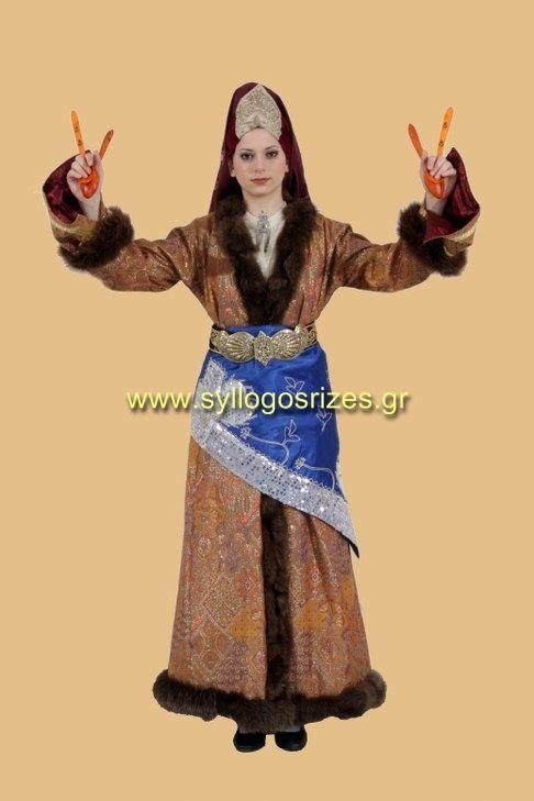 Greek traditional costumes Εργαστήρι κατασκευής ελληνικών παραδοσιακών φορεσιών  www.syllogosrizes.gr  Σύλλη Ικονίου Καππαδοκίας