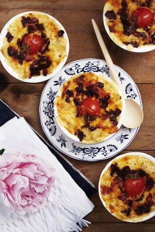 Individuele macaroni-en-kaas   SARIE   Individual mac and cheese