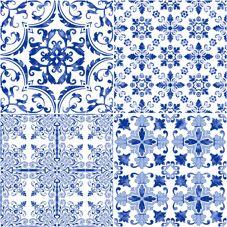 MILAN | CHINOISERIE | Face 5 | 40x40 | Wall & Floor Tile