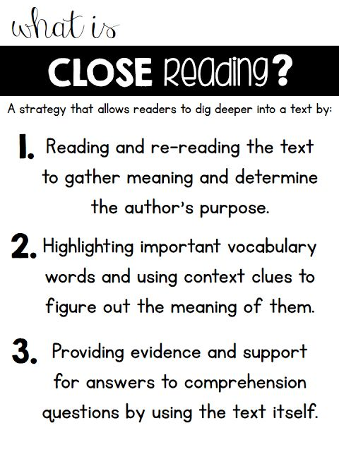 What is close reading? Close reading in a first grade classroom with a freebie to practice!
