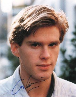 Cary Elwes in his the early years, he looked good back then and that accent. Oh yes