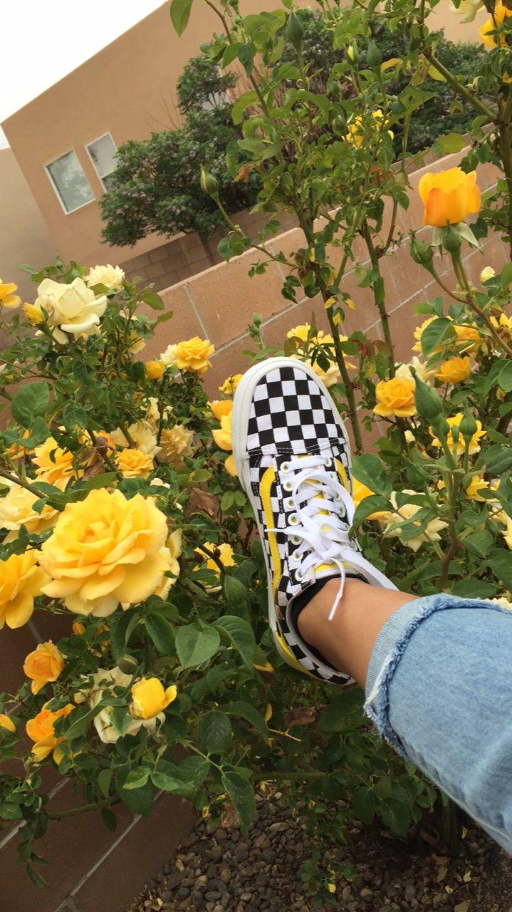 Pinterest Drayyy S Yellow Vans Yellow Aesthetic