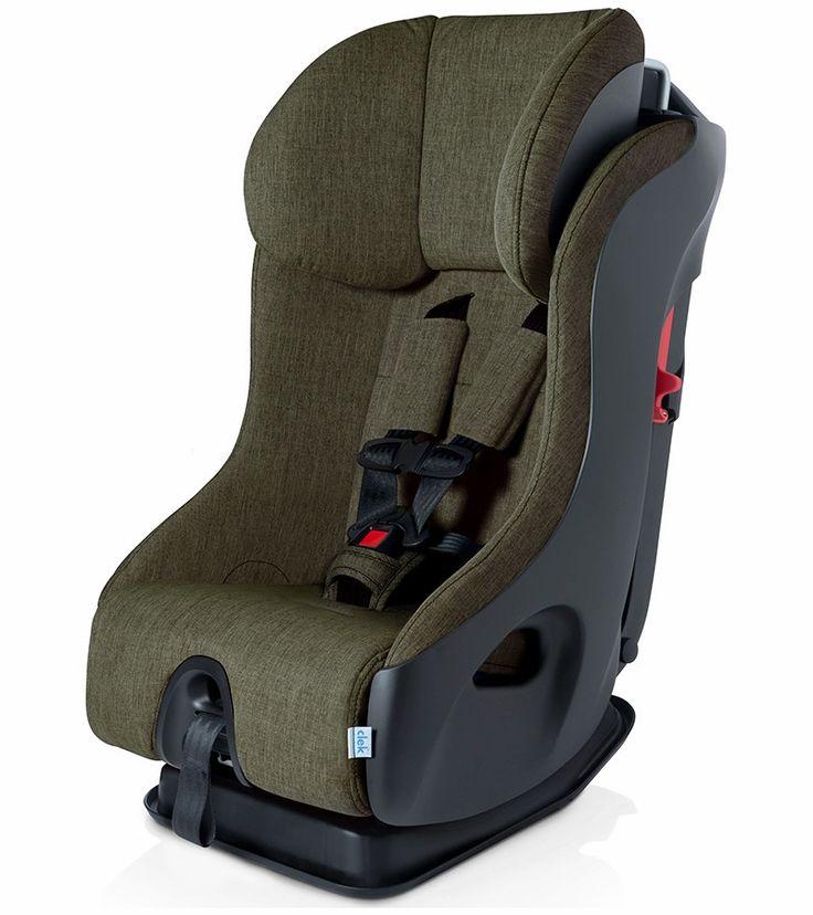 Clek 2017 Fllo Convertible Car Seat - Woodlands w/ Black Base