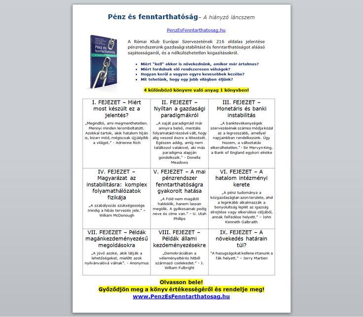 Bernard Lietaer - Pénz és Fenntarthatóság könyv: http://penzesfenntarthatosag.hu