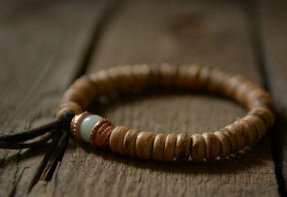 POWER & SERENITY kralen armband Yoga sieraden door CandiedBohemian
