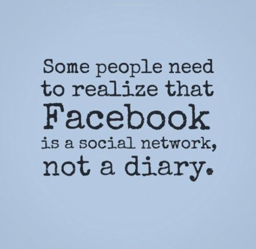 That goes for Instagram, Twitter and even Pinterest as well, which is SAD!!! #seriouslythough