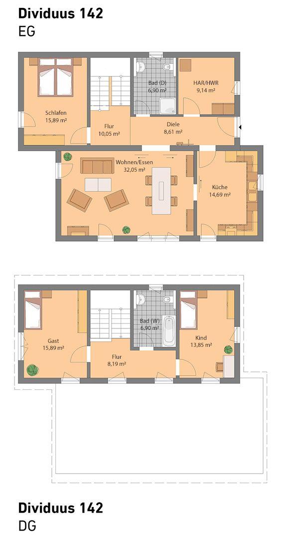 Spektral-Haus Dividuus 142  Unser Verwandlungskünstler ist individuell planbar. Wir bieten schlüsselfertige Häuser auf Maß.