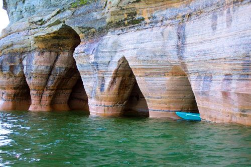 Pictured Rocks, Upper Peninsula Michigan