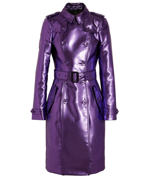 20 best #summer #sale picks: Burberry Prorsum metallic purple trench coat, now $1917. http://www.fashionmagazine.com/blogs/shopping/2013/06/04/summer-sale-2013/